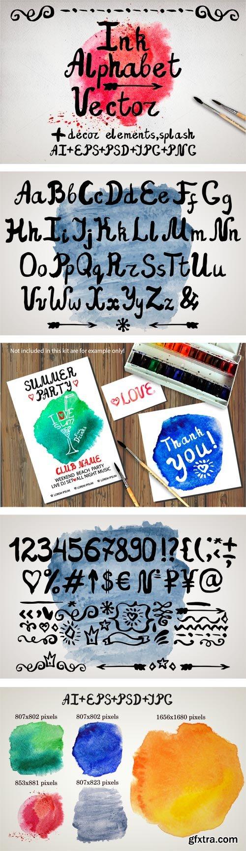 CM 299385 - Ink Brush Font Bundle 01