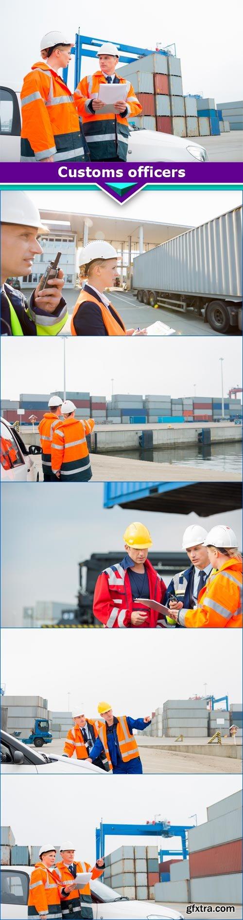 Customs officers 6x JPEG