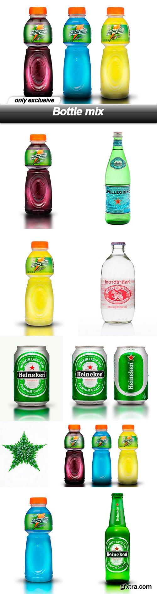Bottle mix - 10  UHQ JPEG