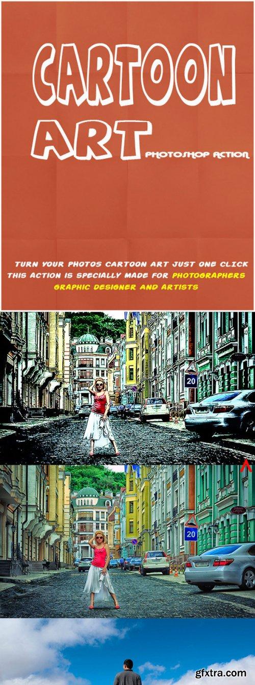 Graphicriver - Cartoon Art Photoshop Action 11088952