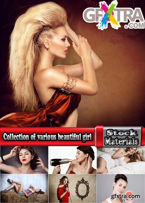 Collection of various beautiful girl with luxurious hair hairstyle 25 HQ Jpeg