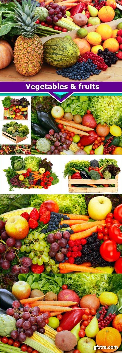 Vegetables & fruits 10x JPEG