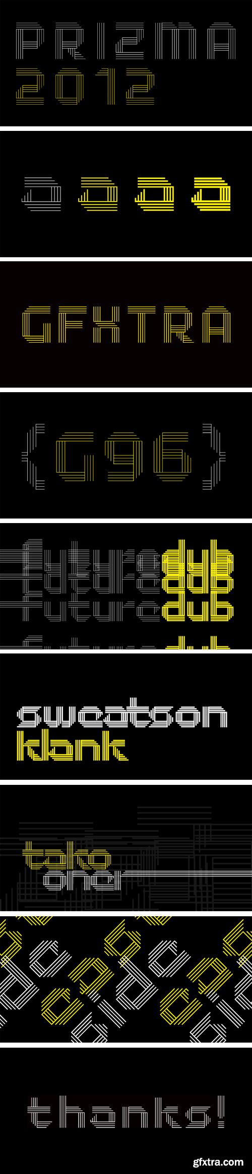Prizma2012 Font Family