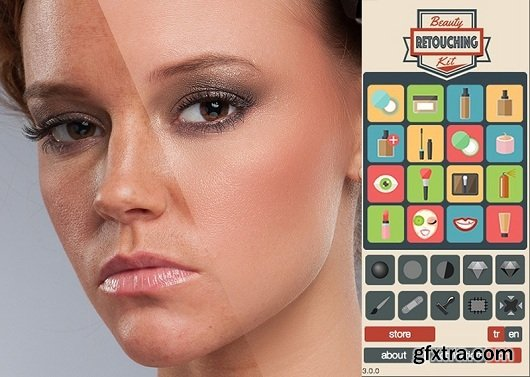 Beauty Retouching Kit 3.0 for Photoshop CS6 - CC 2015 (Mac OS X)