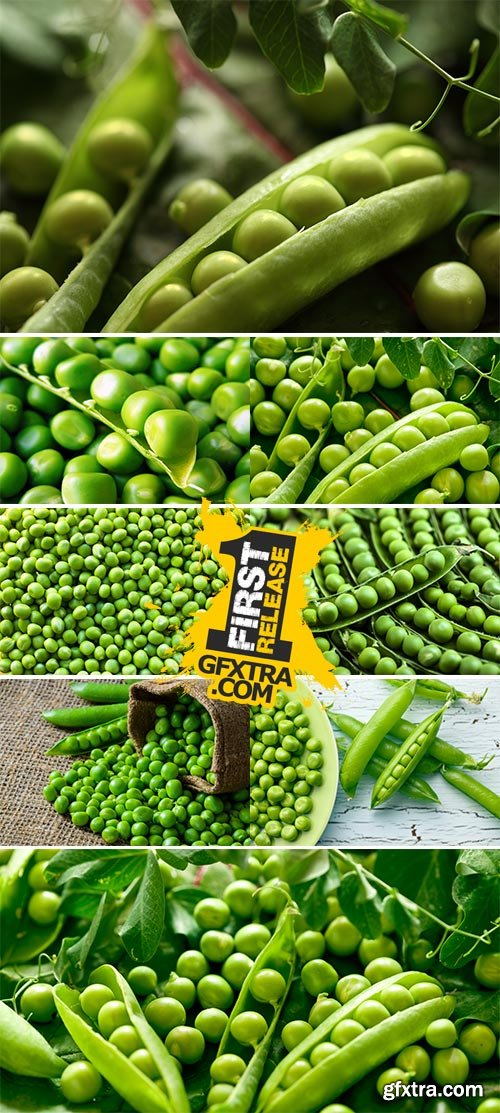 Stock Images - Green peas