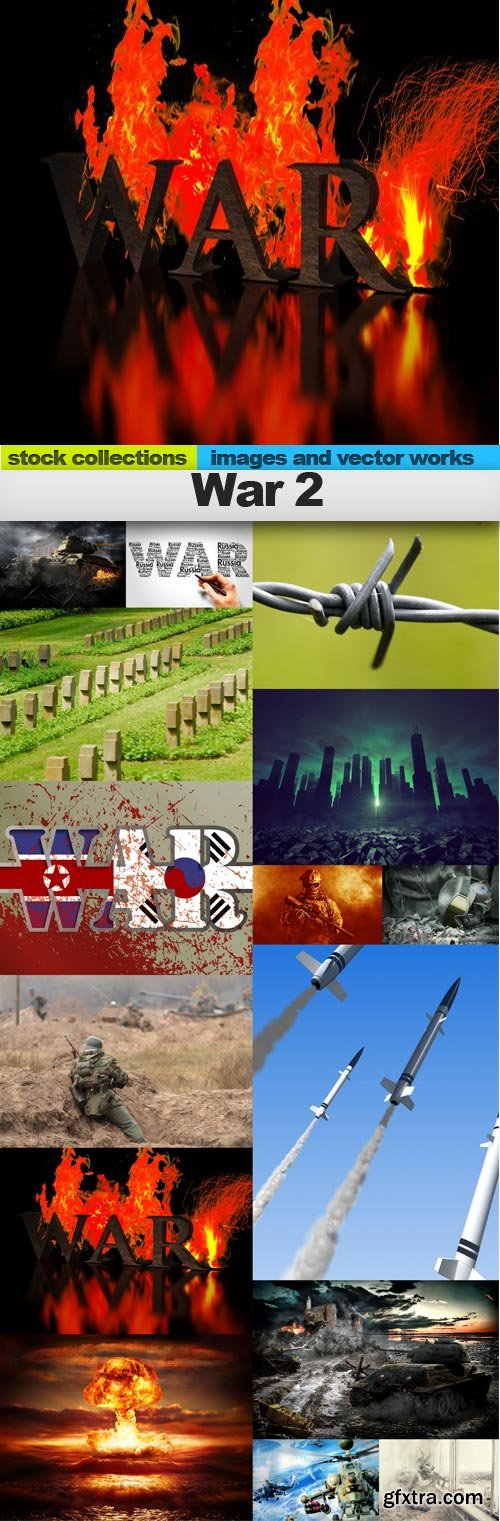 War 2, 15 x UHQ JPEG