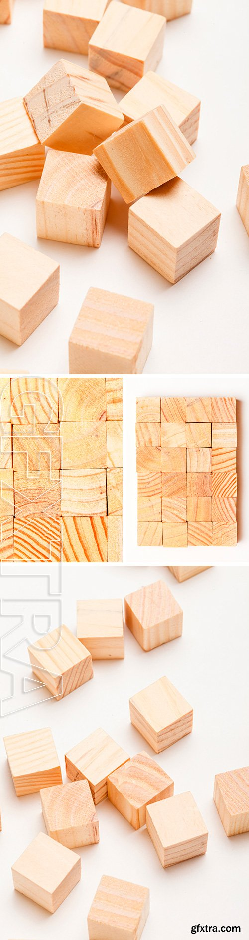 Stock Photos - Wooden toy blocks