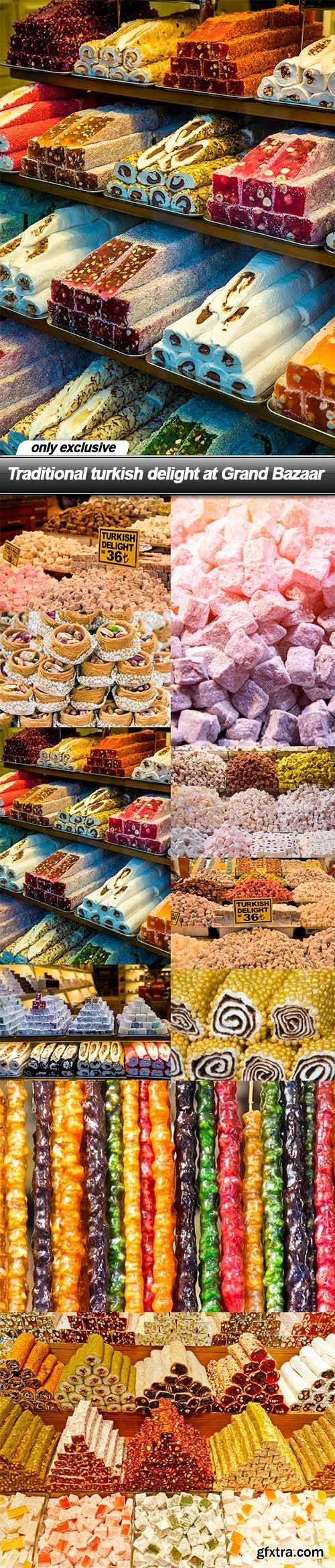 Traditional turkish delight at Grand Bazaar - 10 UHQ JPEG