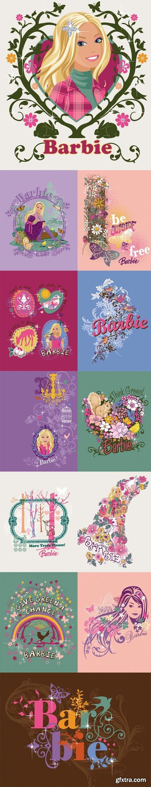 Barbie Fashion 12xEPS