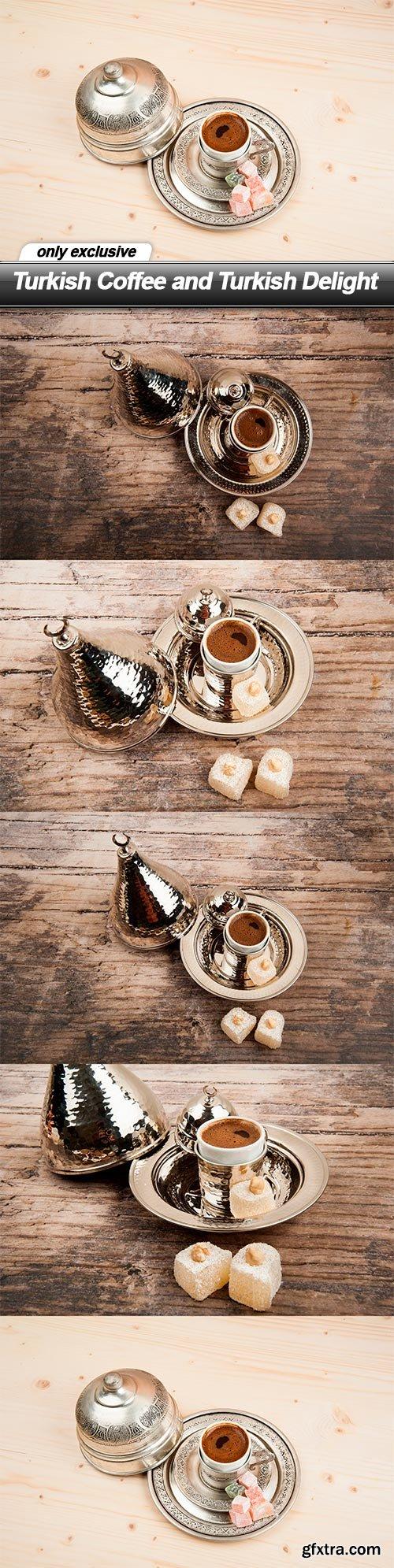 Turkish Coffee and Turkish Delight - 5 UHQ JPEG