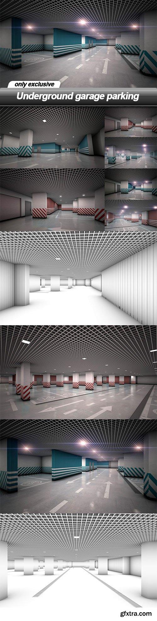 Underground garage parking - 10 UHQ JPEG