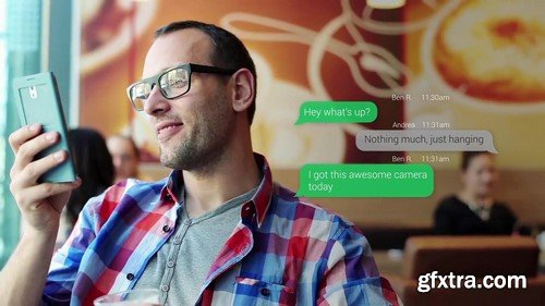 Motion Array - Text Messaging After Effects Template