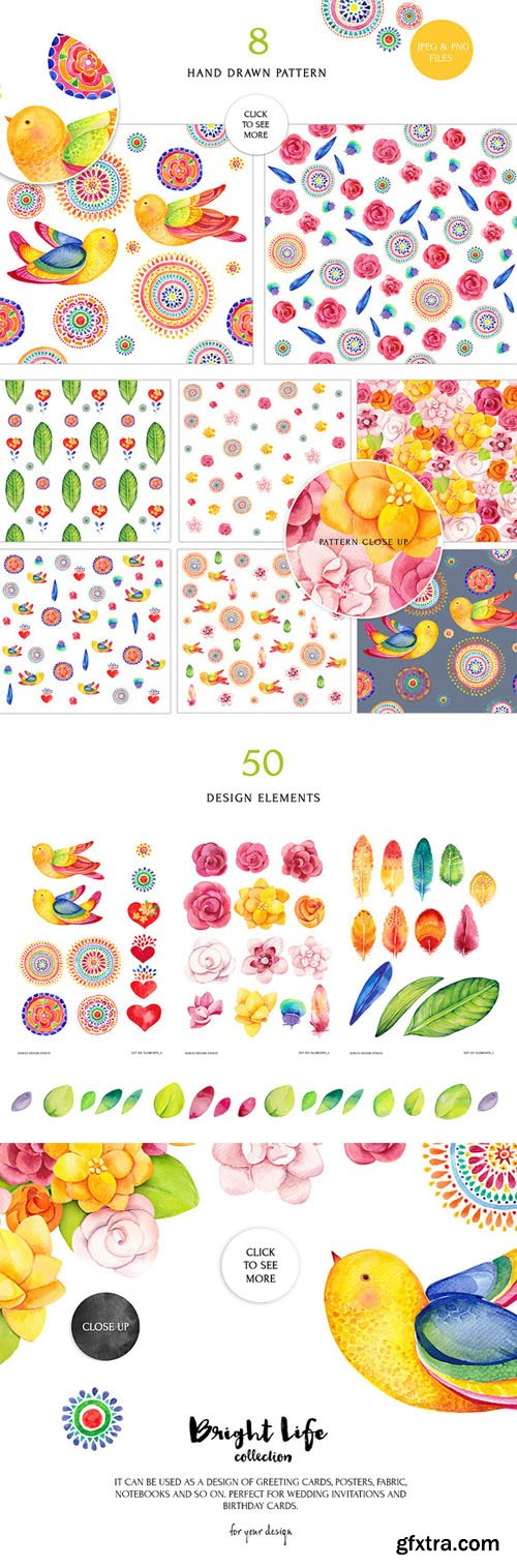 Bright life watercolor set - CM 235213