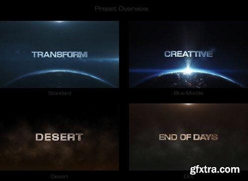 Videohive Cinematic Transform 8005536