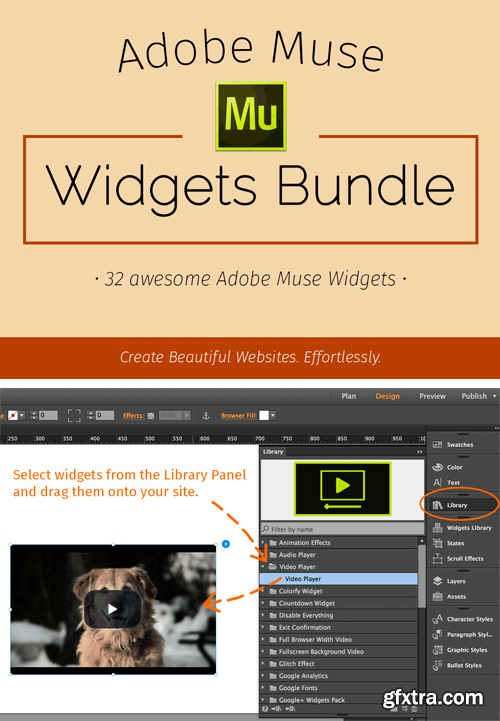 CM 315741 - Adobe Muse Widgets Bundle