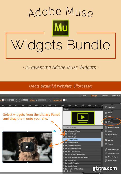 CM 315741 - Adobe Muse Widgets Bundle