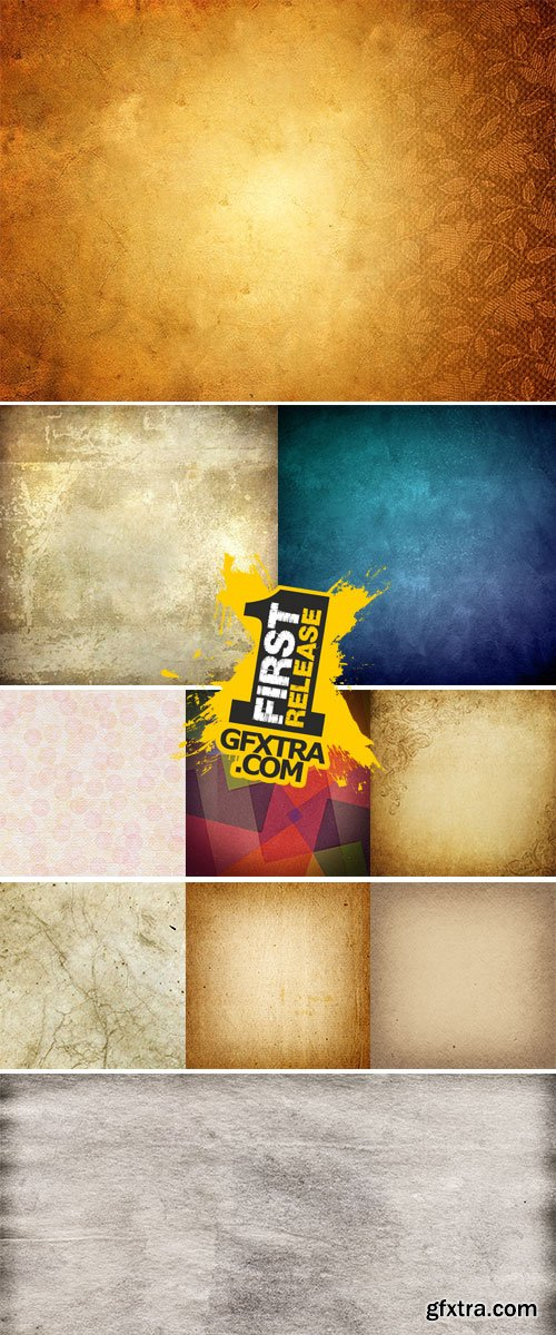 Stock Images - Colorful vintage background vectors