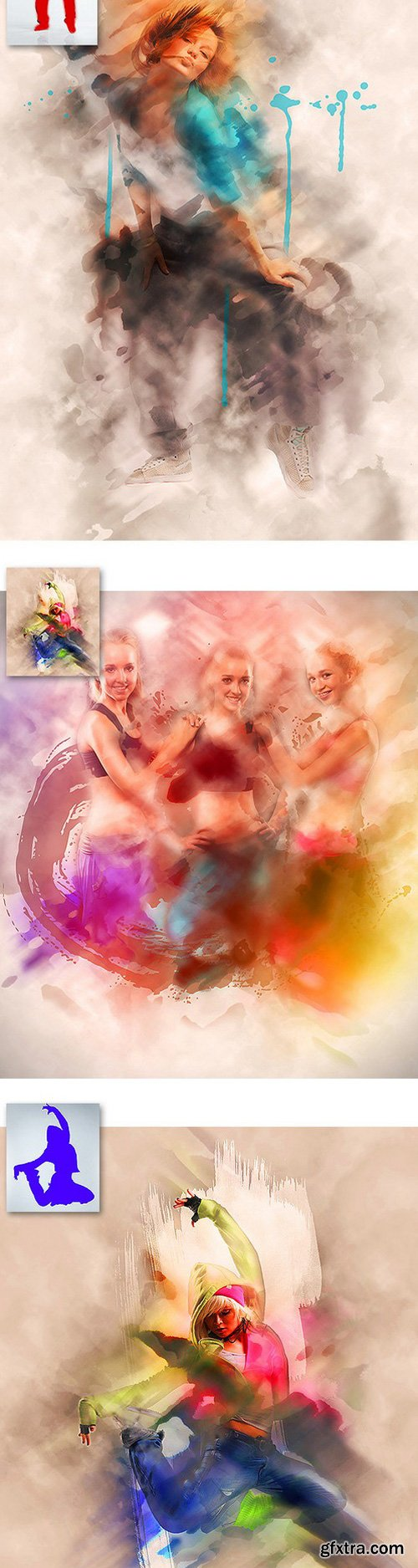 GraphicRiver - 12058178 Modernart Photoshop Action Vol1