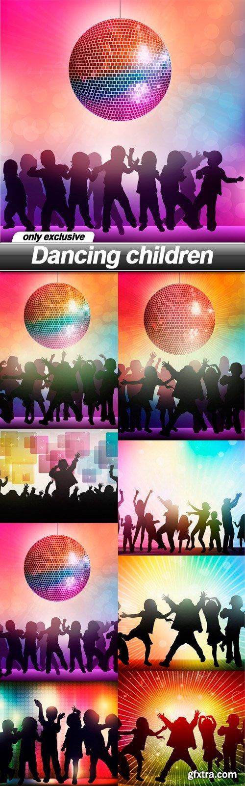 Dancing children - 8 EPS