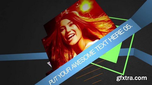 Motion Array - Geometric After Effects Template