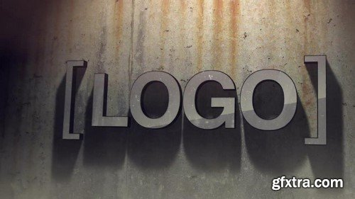 Motion Array -  Grunge Logo After Effects Template