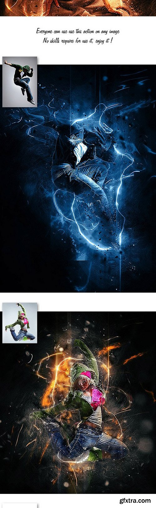 GraphicRiver - 12093457 Fury Photoshop Action Vol.1