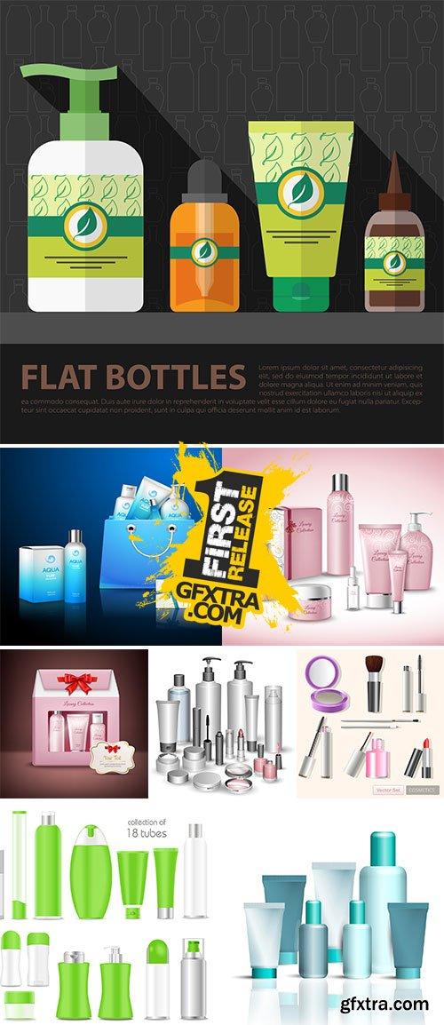 Stock Hygiene skin care concept vectors