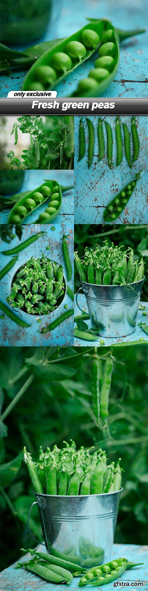 Fresh green peas - 7 UHQ JPEG