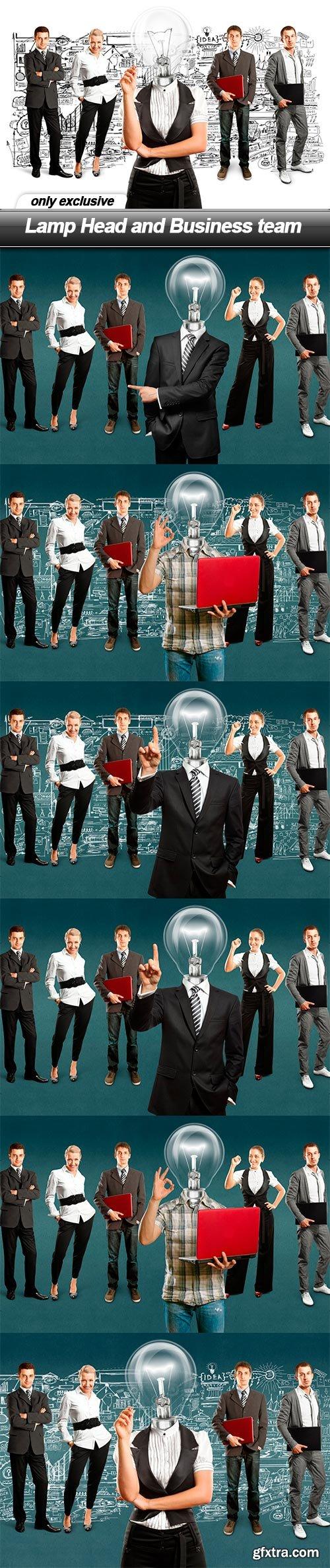 Lamp Head and Business team - 7 UHQ JPEG