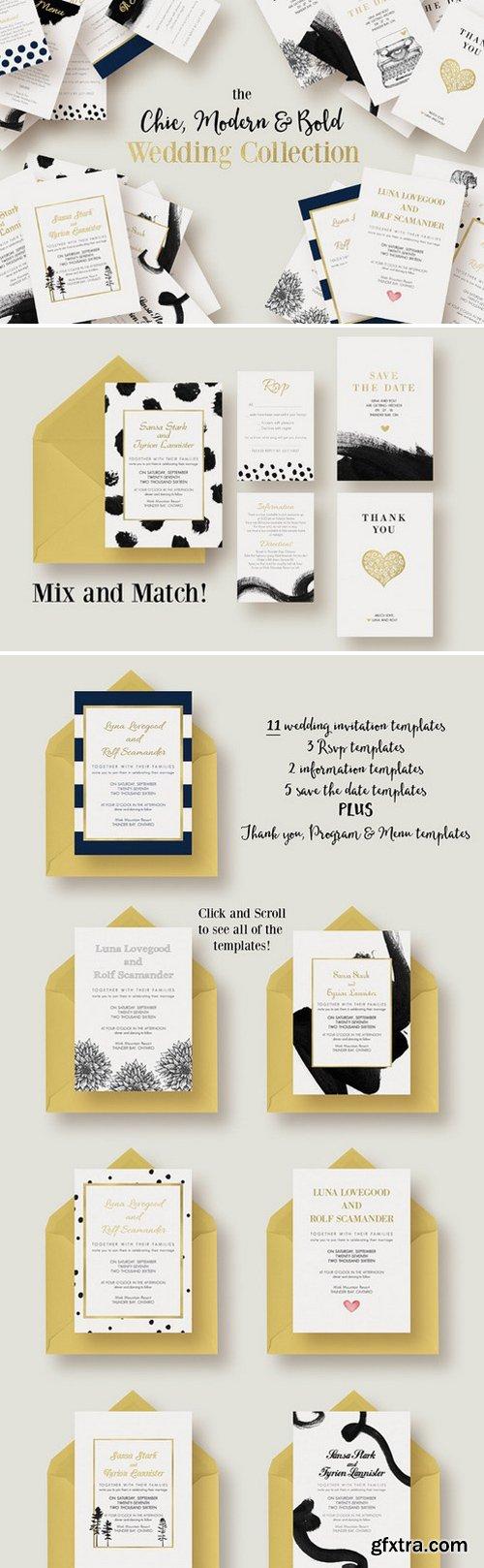CM - Chic,Modern&Bold Wedding Collection 325013