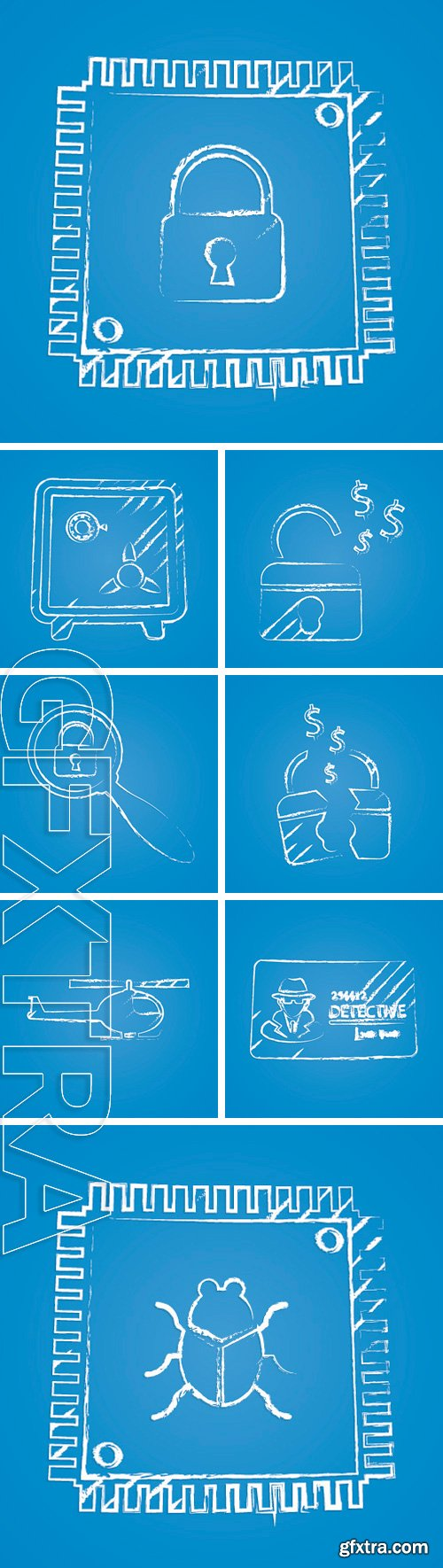 Stock Vectors - Vector illustration of business and finance icon