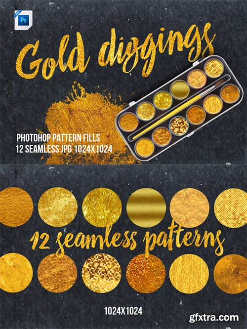 CM - Gold Diggings Fill Patterns 325015