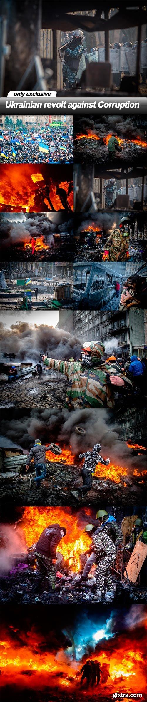 Ukrainian revolt against Corruption - 12 UHQ JPEG
