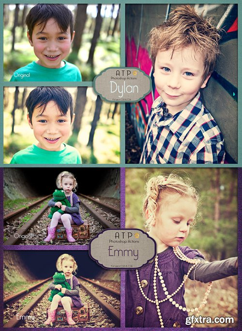 Photoshop Actions - Dylan & Emmy