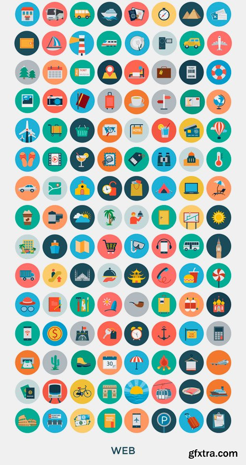CM 261088 - 3200+ Flat Vector Icons
