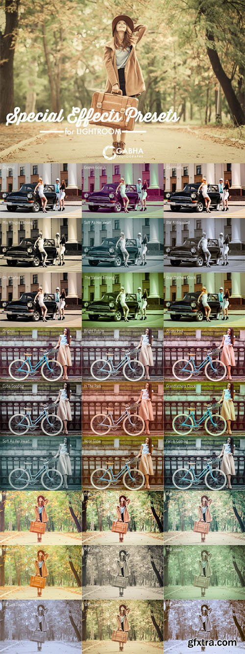 CreativeMarket - Special Effects Presets Lightroom 327848