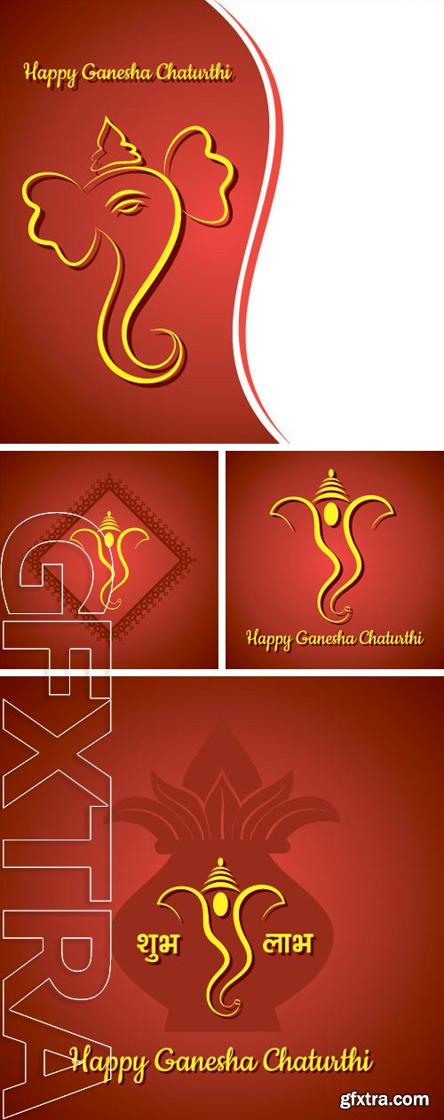 Stock vectors creative ganesh chaturthi festival greeting card stock vectors creative ganesh chaturthi festival greeting card background vector m4hsunfo