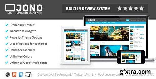 ThemeForest - Jono v2.7 - Responsive WordPress Magazine Theme - 5150037