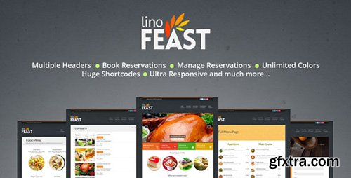 ThemeForest - LinoFeast v4.0 - Restaurant Responsive Wordpress Theme - 4762544