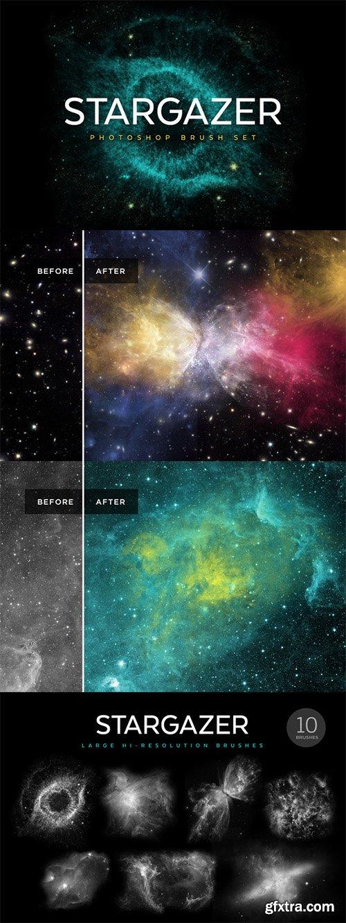 CM - Stargazer Photoshop Brush Set 332007