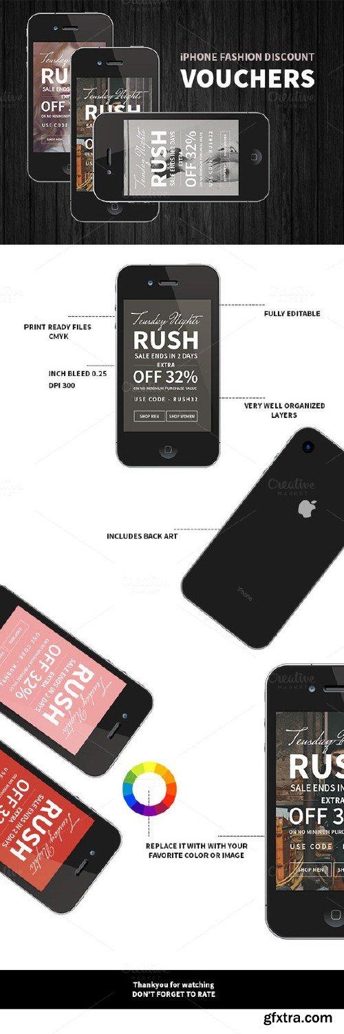CM - iPhone Fashion Discount Voucher 329179
