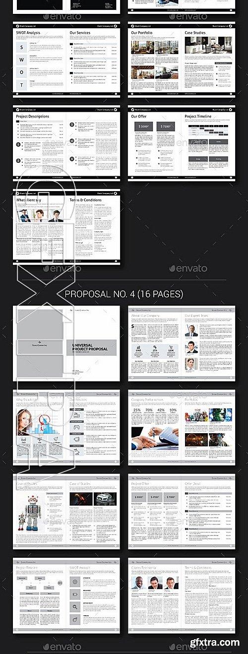 GraphicRiver - Proposal Bundle 01 12134564