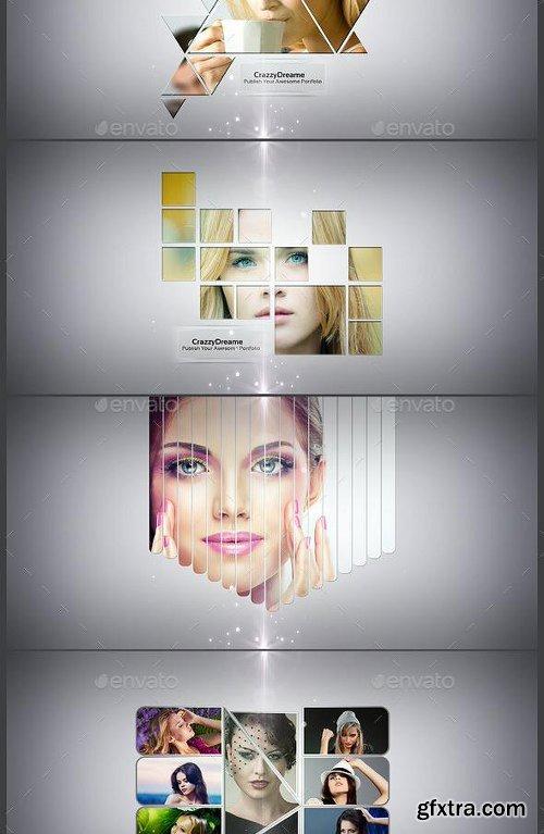 GraphicRiver Abstrakt Photo Frame Bundle 12321527