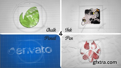 Videohive Sketch and Ink Logo 12056854