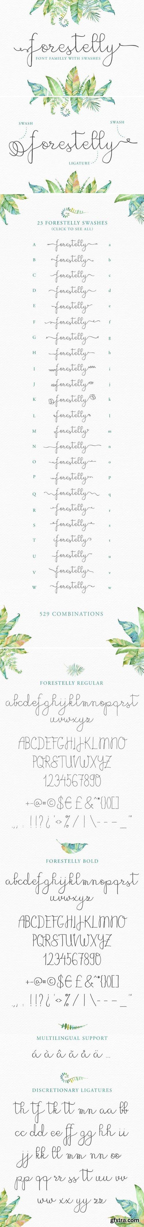 CM - Forestelly wedding + swashes 332281