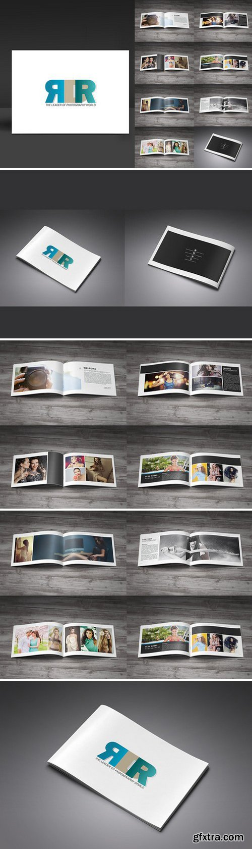 CM - InDesign Photography Brochure 331836