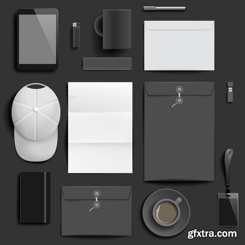 Corporate identity template - 15 EPS