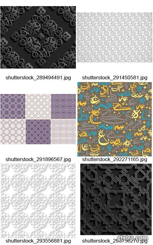 Amazing SS - Arabic Patterns 2, 25xEPS