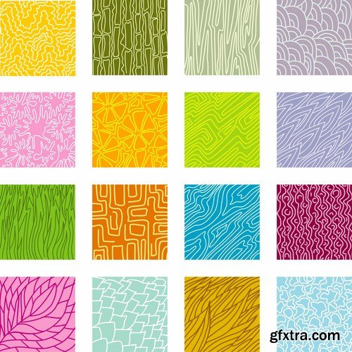 Vector textured backgrounds - 8 EPS