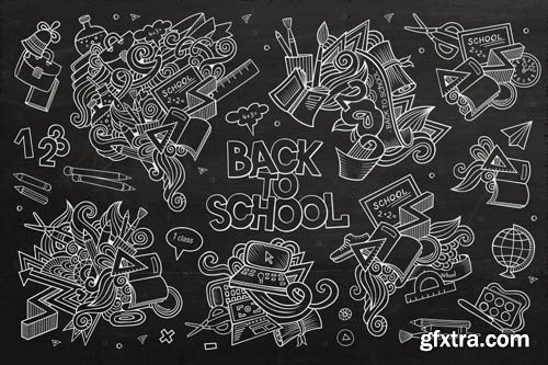 Back To School #1 - 25xEPS